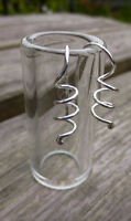925 Sterling silver handmade spiral earrings