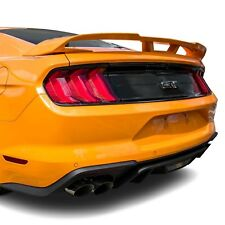 For Ford Mustang 15-19 T5i Factory Style Fiberglass Rear Spoiler Unpainted