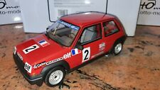 Renault 5 Gt Turbo Coupe Otto 1/18 Ottomobile