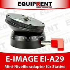 E-IMAGE EI-A29 mini Nivellieradapter / Nivellierhalbkugel für Stative (EQ213)