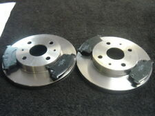 CHARADE SIRION YRV FRONT VENTED BRAKE DISCS & PADS