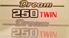 HONDA CB250 CB250T DREAM SIDE PANEL DECALS