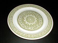 Ridgway England Ironstone Green MOSAIC Dinner Plate/s (loc-1E)