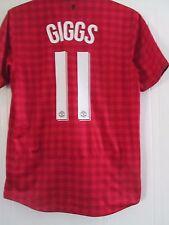 Manchester United 2012-2013 Giggs 11 Home Football Shirt Size Medium /41600