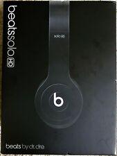 Beats by Dr. Dre Solo HD Headband Headphones - Matte Black - Original Packaging