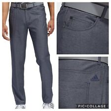NEW! Adidas Ultimate365 Heather 5-Pocket Golf Pants- Navy- Multiple Sizes