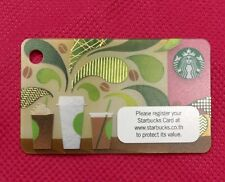 "Starbucks Card Thailand 2015 ""How to Make Coffee"" Mini Card;Pin Still Intact"