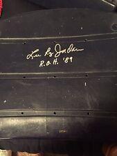 Lee Roy Jordan Signed Dallas Cowboys Seat Bottom. Alabama.