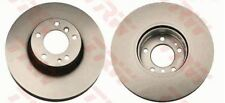 NEW BRAKE ENGINEERING FRONT BRAKE DISCS PAIR BMW 5 7 8 SERIES DI955076S
