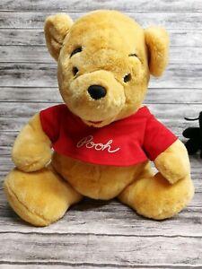 "Authentic Disneyland Resort Walt Disney World Winnie the Pooh Plush 14"" Vintage"