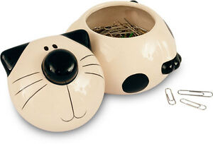 2Kewt Cat Ceramic Lidded Storage Pot
