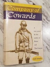 Company of Cowards 1st Ed/1st print w/Dust Jacket 1957 Jack Schaefer Civil War