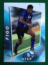 FOOTBALL CARDS REAL ACTION 2008-09 n.73 INTER FIGO , Figurina Panini NEW