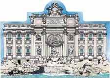Cat's Meow Village Keepsake Rome Italy Trevi Fountain #R944 New