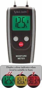 Valiant Digital Moisture Meter for Firewood, Timber and Brickwork - FIR421