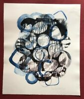 Ina Geißler, Dap Stones 6, Farbradierung, 2011, handsigniert und datiert