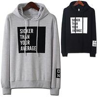 Mens Luxury Hoodie Jacket Cardigan Sweater Jumper Blazer Top T-Shirts W139 - S/M