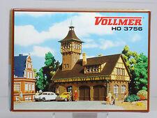 Vollmer Spur H0 3756 Gerätehalle mit Turm. NEU. OVP.