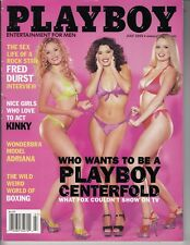 Playboy July 2002, Lauren Anderson, Centerfold Search, sexy busty ladies /l7
