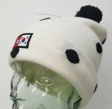 The North Face International Collection Ski Tuke Hat South Korea White Dots Rare