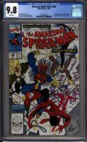 Amazing Spider-Man 340 CGC Graded 9.8 NM/MT 1st Femme Fatale Marvel Comics 1990