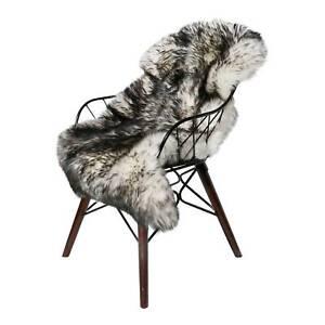 Lambskin Black Forest Merino Sheepskin Runner Decoration Real Fur Runner Deco