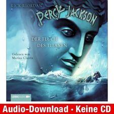 Hörbuch-Download (MP3) ★ R. Riordan: Percy Jackson, Teil 3: Der Fluch des Titan…