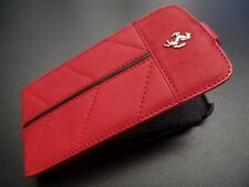 Official Ferrari Red Leather Case w/ Flap For Samsung Galaxy S3 III
