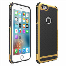 Tempered Glass Hybrid Shockproof Hard Bumper Soft Silicone Case Cover for iPhone