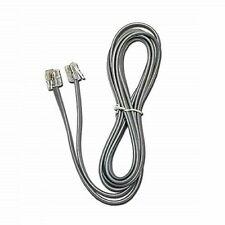 7FT Line Cord Cable 6P6C RJ12 RJ11 DSL Modem Fax Phone Landline Telephone