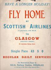 More details for scottish airlines the manx airway 1936 cambrian board british european airways,