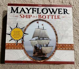 Mayflower Ship In A Bottle Model Kit USA STERLING INNOVATION