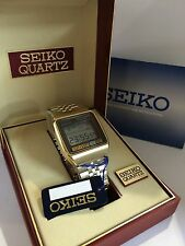Seiko M354  Memory Bank LCD LED Collectible Watch