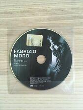 Fabrizio Moro - Libero - CD Single PROMO - 2008 Atlantic - Near Mint RARO!!!