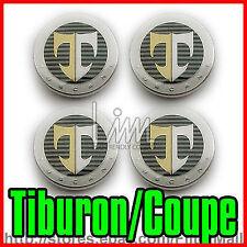 17 INCH CENTER WHEEL HUB CAP SET FOR TIBURON / COUPE 2003-2008 (4PIECE).
