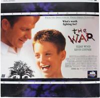 THE WAR LASERDISC Sealed NEW 90s Drama Movie Kevin Costner Elijah Wood LD 1994