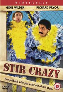 Stir Crazy Dvd Gene Wilder Brand New & Factory Sealed (1980)