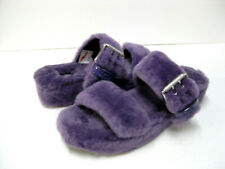 UGG FUZZ YEAH WOMEN SLIPPER VIOLET BLOOM US 8 /UK 6 /EU 39 /JP 25