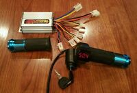 48V - 1000 Watt Controller and LED Digital throttle (Brushed Motor) Ebike e bike