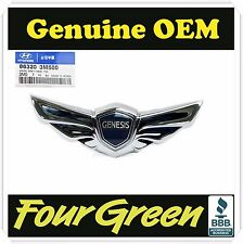 Hood Wing Emblem for Hyundai Genesis 2009-2014  OEM NEW [863203M500]
