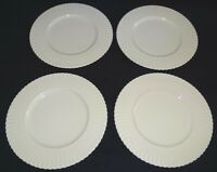 Lenox USA Fluted Set of 4 Plates 8 3/8""