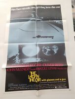 "THE LADY IN THE CAR 1970 Original Movie Poster One Sheet 27""X41"" SAMANTHA EGGAR"