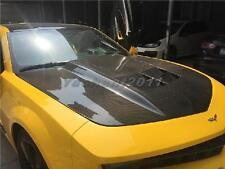 FRP Bonnet Fit For 10-13 Chevrolet Camaro V6&V8 ZL1-Style Hood BumbleBee
