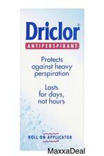 2x Driclor Solution Anti-perspirant Roll-On 20ml (40ml)