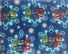 PJ MASKS GIFT WRAP WRAPPING PAPER ROLL CHRISTMAS HOLIDAY 30 SQ. FEET LAST 2 LEFT