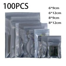 More details for transparent insulated bags 100x anti-static grey self-sealing comfortable
