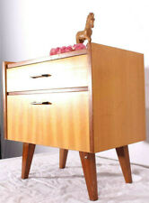 RETRO! Kultigerer 60er Jahre Beistellschrank Schubladenschrank Nachttisch Klapp