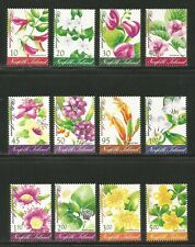 Norfolk Island 2002 Local Island Flowers--Attractive Topical (767-78) MNH