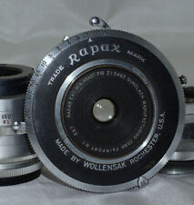 5x7 Radar Extra Wide Angle f16 Gundlach large format lens in Rapax Shutter