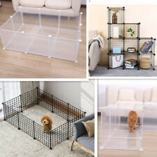 Dog Fences Pet Playpen DIY Animal Cat Crate Cave Multi-functional Sleeping